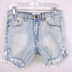One X One Teaspoon Brando Frankies Jean Shorts 25